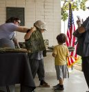 Veterans share services at Armed Forces Day
