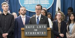 Bill to house students in Parking Lot postponed until 2020