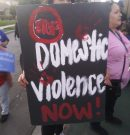 SAAVE, Women's Center march against domestic violence