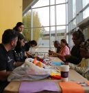 VPAM workshop attendees learn alebrije-type art
